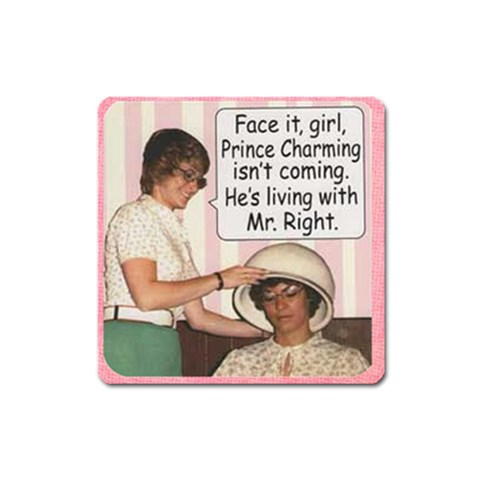 Mrright By Amazing Moi   Magnet (square)   Rkgmr5t6p2rg   Www Artscow Com Front