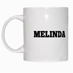 Mels Cup By Melinda Bow   White Mug   6d7yk23advrp   Www Artscow Com Left