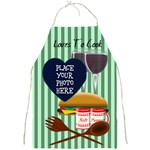 Loves To Cook - Full Print Apron