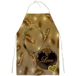 Love gold apron - Full Print Apron