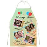 Party Time Apron - Full Print Apron