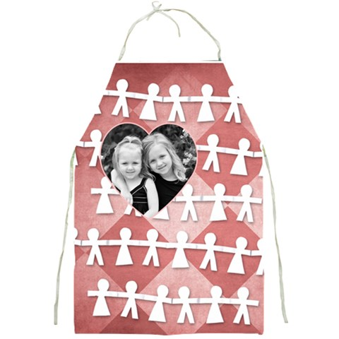 Family Heart Apron By Amanda Bunn   Full Print Apron   Arcgial2bh5b   Www Artscow Com Front