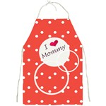 Love Mommy apron - Full Print Apron