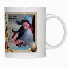 Beach Mug 2011 By Eleanor Norsworthy   White Mug   6cqfmx991on5   Www Artscow Com Right