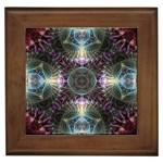 Fractal Kroz Framed Tile