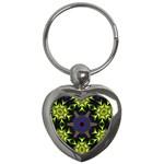 Fractal Art: May011-002 Key Chain (Heart)
