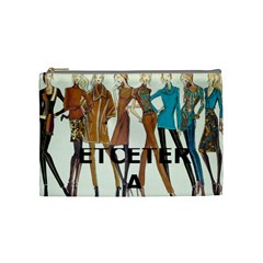 Etc Cosmetic Bag Fall 2011 Group 5 And 6 By Lori Cronican   Cosmetic Bag (medium)   602fjgya965a   Www Artscow Com Front