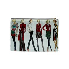 Etc Cosmetic Bag Fall 2011 Group 5 And 6 By Lori Cronican   Cosmetic Bag (medium)   602fjgya965a   Www Artscow Com Back