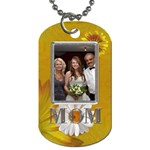 Mom 2-Sided Dog Tag - Dog Tag (Two Sides)