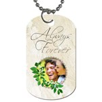 You & Me Always & Forever Double Sided Dog Tag - Dog Tag (Two Sides)