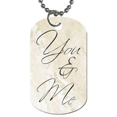 You & Me Always & Forever Double Sided Dog Tag By Catvinnat   Dog Tag (two Sides)   1uq42w9y57o4   Www Artscow Com Back