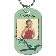 Rick Fd By Heather   Dog Tag (two Sides)   3lwudqd87tlz   Www Artscow Com Front