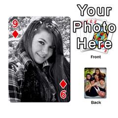 Family Card Deck By Henri Lynn Bryan   Playing Cards 54 Designs   L6npj8dgdic8   Www Artscow Com Front - Diamond9