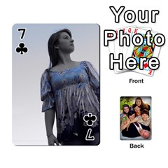 Family Card Deck By Henri Lynn Bryan   Playing Cards 54 Designs   L6npj8dgdic8   Www Artscow Com Front - Club7