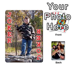 Family Card Deck By Henri Lynn Bryan   Playing Cards 54 Designs   L6npj8dgdic8   Www Artscow Com Front - Joker2