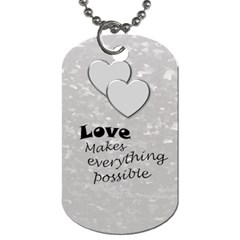 Military Love (2 Sided) Dog Tag By Deborah   Dog Tag (two Sides)   Qobe1ka9maka   Www Artscow Com Back