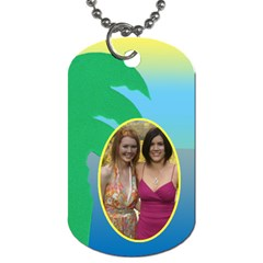 Vacation Luggage (2 Sided) Dog Tags By Deborah   Dog Tag (two Sides)   U0hg4niiib9k   Www Artscow Com Front