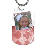 Girl tag - Dog Tag (One Side)