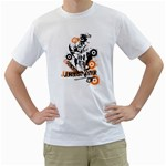 concrete jungle exploiter design custom White T-Shirt