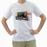 underground urban design custom White T-Shirt