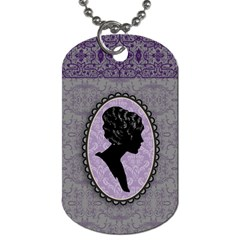 Cameo Locket 2 Sided Dog Tag By Klh   Dog Tag (two Sides)   4bw9ayrm742p   Www Artscow Com Front