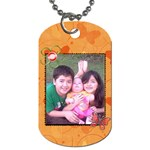 Miss Melanie - Dog Tag (One Side)