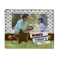Father Day By Joely   Cosmetic Bag (xl)   Ri6cbcpsfqbb   Www Artscow Com Front
