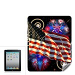 Patriotic Apple Ipad skin