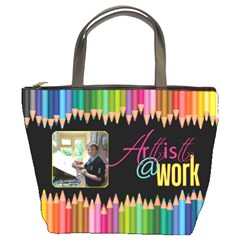 Artist   Work Bucket Bag By Catvinnat   Bucket Bag   Admpb9x7479m   Www Artscow Com Front
