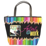 Artist @ Work Bucket Bag