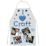 I love craft Apron - Full Print Apron