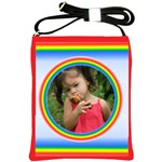 Rainbow Sling Bag - Shoulder Sling Bag