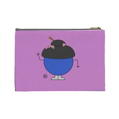 Geisha Cosmetics Bag (large) By Giggles Corp   Cosmetic Bag (large)   Fl33ho38bfyt   Www Artscow Com Back