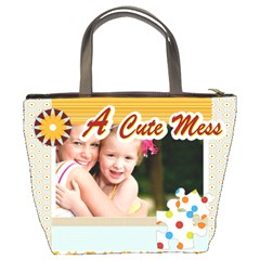 A Cute Mess By Joely   Bucket Bag   Ml6s17fq2y85   Www Artscow Com Back