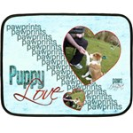 Puppy Love Mini Fleece Blanket