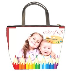 Color Kids By Wood Johnson   Bucket Bag   88yh22on3eqg   Www Artscow Com Back