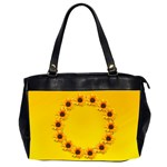 sunny bag (two sides) - Oversize Office Handbag (2 Sides)
