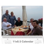 Italy Calendar for Dad - Wall Calendar 11  x 8.5  (18 Months)
