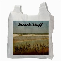 Beachstuff Recycle Bag By Eleanor Norsworthy   Recycle Bag (two Side)   5welup9spuw6   Www Artscow Com Back