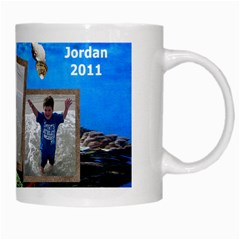 Jordan Beach Mug 2011 By Eleanor Norsworthy   White Mug   0jv80il3m20u   Www Artscow Com Right