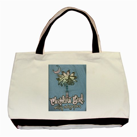 Carolina Girl Tote Bag By Eleanor Norsworthy   Basic Tote Bag   Duwk8ch5qjzm   Www Artscow Com Front