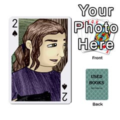 Ub Cards By Vickie Boutwell   Playing Cards 54 Designs   Uq8ulw93o2jd   Www Artscow Com Front - Spade2