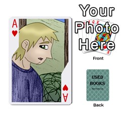 Ace Ub Cards By Vickie Boutwell   Playing Cards 54 Designs   Uq8ulw93o2jd   Www Artscow Com Front - HeartA