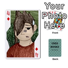 Ub Cards By Vickie Boutwell   Playing Cards 54 Designs   Uq8ulw93o2jd   Www Artscow Com Front - Diamond4