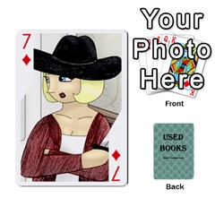 Ub Cards By Vickie Boutwell   Playing Cards 54 Designs   Uq8ulw93o2jd   Www Artscow Com Front - Diamond7