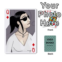 Queen Ub Cards By Vickie Boutwell   Playing Cards 54 Designs   Uq8ulw93o2jd   Www Artscow Com Front - DiamondQ