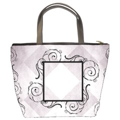 Swirl Frame Bucket Bag By Amanda Bunn   Bucket Bag   K6dwdnrshe2b   Www Artscow Com Back