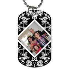 Kimmy Dog Tag By Jolene   Dog Tag (two Sides)   58cu3yb1v3gr   Www Artscow Com Front