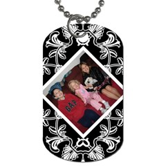 Kimmy Dog Tag By Jolene   Dog Tag (two Sides)   58cu3yb1v3gr   Www Artscow Com Back