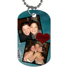 Suzie And I Dog Tag By Jolene   Dog Tag (two Sides)   U31w2k6q6chd   Www Artscow Com Front